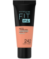 Maybelline Fit Me Matte + Poreless Foundation Normal To Oily 30 ml - 242 Light Honey