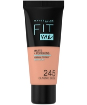 Maybelline Fit Me Matte + Poreless Foundation Normal To Oily 30 ml - 245 Classic Beige
