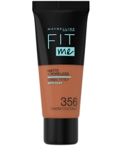 Maybelline Fit Me Matte + Poreless Foundation Normal To Oily 30 ml - 356 Warm Coconut (U)
