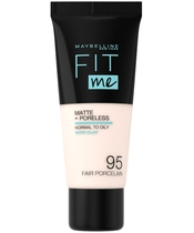 Maybelline Fit Me Matte + Poreless Foundation Normal To Oily 30 ml - 095 Fair Porcelain