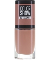 Maybelline Color Show 60 Seconds Nail Polish 6,7 ml - 1 Go Bare