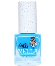Miss NELLA Nail Polish 4 ml - Mermaid Blue
