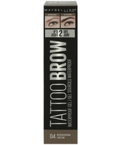 Maybelline Tattoo Brow Waterproof Gel 5 ml - 04 Medium Brown