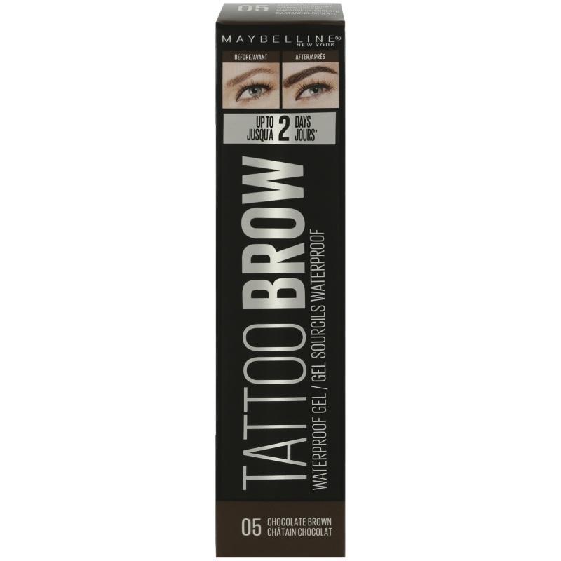 Maybelline Tattoo Brow Waterproof Gel 5 ml - 05 Chocolate Brown