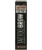 Maybelline Tattoo Brow Waterproof Gel 5 ml - 05 Chocolate Brown