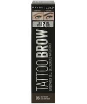 Maybelline Tattoo Brow Waterproof Gel 5 ml - 06 Deep Brown