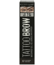 Maybelline Tattoo Brow Waterproof Gel 5 ml - 07 Black Brown