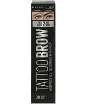Maybelline Tattoo Brow Waterproof Gel 5 ml - 08 Black