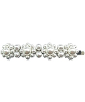 Everneed Pretty Candycade Pearl Hairclip Silver (U)