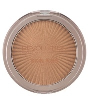 Makeup Revolution Skin Kiss Highlighter 14 gr. - Sun Kiss