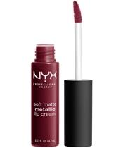 NYX Prof. Makeup Soft Matte Metallic Lip Cream 6,7 ml - Copenhagen (U)