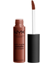 NYX Prof. Makeup Soft Matte Metallic Lip Cream 6,7 ml - Dubai (U)
