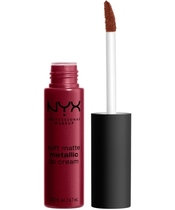 NYX Prof. Makeup Soft Matte Metallic Lip Cream 6,7 ml - Madrid (U)