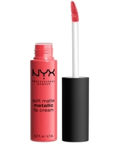 NYX Prof. Makeup Soft Matte Metallic Lip Cream 6,7 ml - Manila (U)