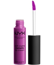 NYX Prof. Makeup Soft Matte Metallic Lip Cream 6,7 ml - Seoul (U)