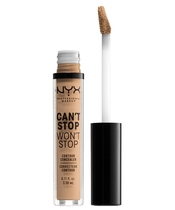 NYX Prof. Makeup Can't Stop Won't Stop Contour Concealer 3,5 ml - Medium Olive