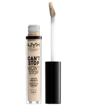 NYX Prof. Makeup Can't Stop Won't Stop Contour Concealer 3,5 ml - Fair