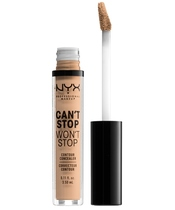 NYX Prof. Makeup Can't Stop Won't Stop Contour Concealer 3,5 ml - Natural