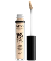 NYX Prof. Makeup Can't Stop Won't Stop Contour Concealer 3,5 ml - Pale
