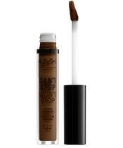 NYX Prof. Makeup Can't Stop Won't Stop Contour Concealer 3,5 ml - Walnut