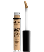 NYX Prof. Makeup Can't Stop Won't Stop Contour Concealer 3,5 ml - True Beige
