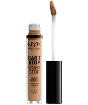 NYX Prof. Makeup Can't Stop Won't Stop Contour Concealer 3,5 ml - Natural Buff