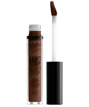 NYX Prof. Makeup Can't Stop Won't Stop Contour Concealer 3,5 ml - Deep Walnut