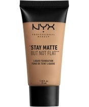 NYX Prof. Makeup Stay Matte But Not Flat Liquid Foundation 35 ml - Sienna