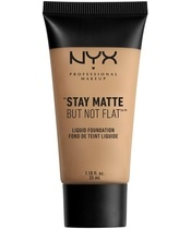 NYX Prof. Makeup Stay Matte But Not Flat Liquid Foundation 35 ml - Beige