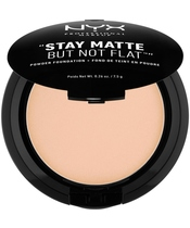 NYX Prof. Makeup Stay Matte But Not Flat Powder Foundation 7,5 gr. - Natural