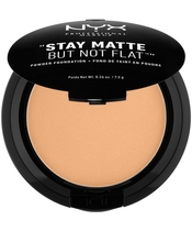NYX Prof. Makeup Stay Matte But Not Flat Powder Foundation 7,5 gr. - Soft Beige