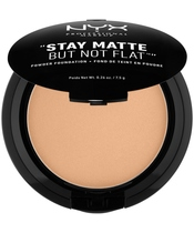 NYX Prof. Makeup Stay Matte But Not Flat Powder Foundation 7,5 gr. - Tan (U)