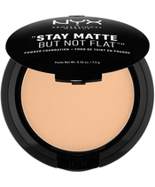 NYX Prof. Makeup Stay Matte But Not Flat Powder Foundation 7,5 gr. - Warm Beige (U)