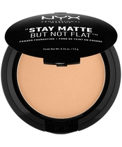 NYX Prof. Makeup Stay Matte But Not Flat Powder Foundation 7,5 gr. - Golden Beige