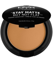 NYX Prof. Makeup Stay Matte But Not Flat Powder Foundation 7,5 gr. - Deep Gold