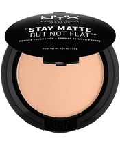 NYX Prof. Makeup Stay Matte But Not Flat Powder Foundation 7,5 gr. - Soft Sand