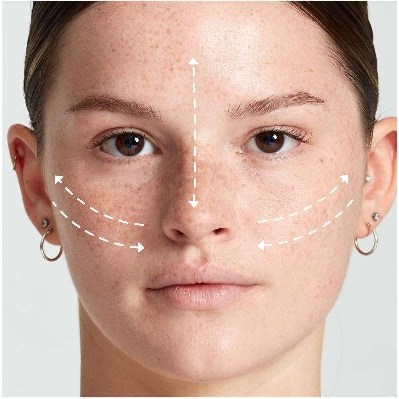få mindre porer