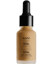 NYX Prof. Makeup Total Control Drop Foundation 13 ml - Caramel (U)