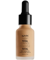 NYX Prof. Makeup Total Control Drop Foundation 13 ml - Classic Tan