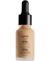 NYX Prof. Makeup Total Control Drop Foundation 13 ml - Medium Olive (U)