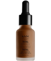 NYX Prof. Makeup Total Control Drop Foundation 13 ml - Chestnut