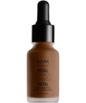 NYX Prof. Makeup Total Control Drop Foundation 13 ml - Deep Espresso