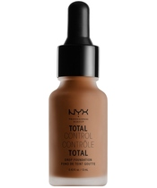NYX Prof. Makeup Total Control Drop Foundation 13 ml - Deep Rich