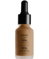 NYX Prof. Makeup Total Control Drop Foundation 13 ml - Deep Sable