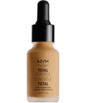NYX Prof. Makeup Total Control Drop Foundation 13 ml - Golden Honey