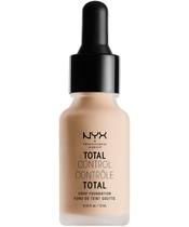 NYX Prof. Makeup Total Control Drop Foundation 13 ml - Light Ivory