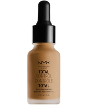 NYX Prof. Makeup Total Control Drop Foundation 13 ml - Mahogany