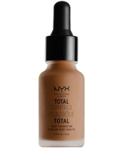 NYX Prof. Makeup Total Control Drop Foundation 13 ml - Mocha
