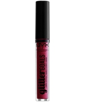 NYX Prof. Makeup Glitter Goals Liquid Lipstick 3 ml - Bloodstone
