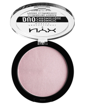 NYX Prof. Makeup Duo Chromatic Illumanating Powder 6 gr. - Lavender Steel